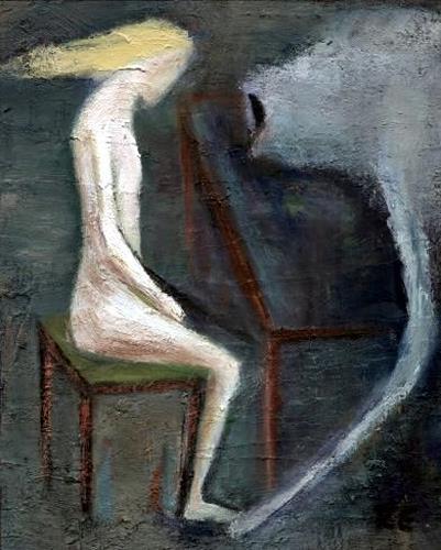 Regina Grahl, das viech ist tot, Menschen: Frau, Abstrakter Expressionismus
