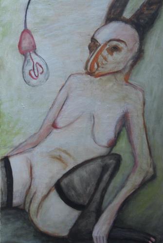 Regina Grahl, warten auf blume, Diverse Erotik
