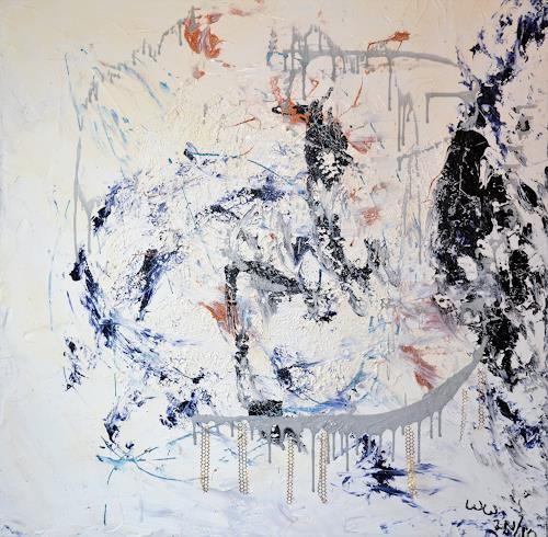 waldraut hool-wolf, brige, Abstraktes, Abstraktes, Abstrakte Kunst