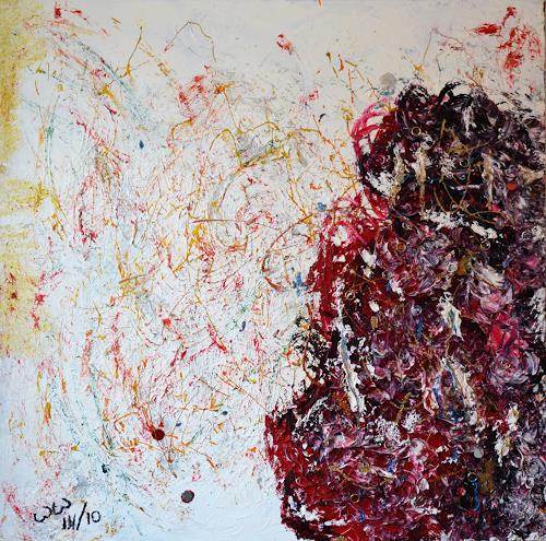 waldraut hool-wolf, Geboren im Geiste, Abstraktes, Abstraktes, Abstrakte Kunst