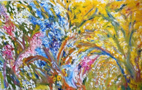 waldraut hool-wolf, sanft, Landschaft: Frühling, Landschaft: Sommer, Impressionismus