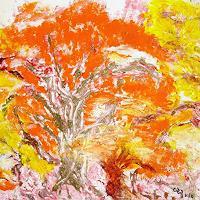 waldraut-hool-wolf-Landschaft-Herbst-Natur-Wald-Gegenwartskunst-Land-Art