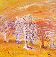 waldraut-hool-wolf-Landschaft-Fruehling-Gegenwartskunst-Land-Art