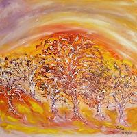 waldraut-hool-wolf-Landschaft-Fruehling-Natur-Wald-Gegenwartskunst-Land-Art