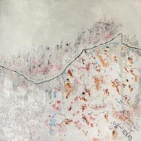 waldraut-hool-wolf-Landschaft-Berge-Moderne-Abstrakte-Kunst