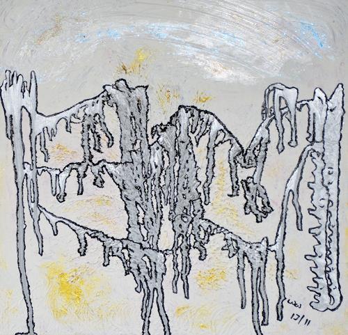waldraut hool-wolf, bridge dance*1J*, Abstraktes, Diverse Menschen, Abstrakte Kunst