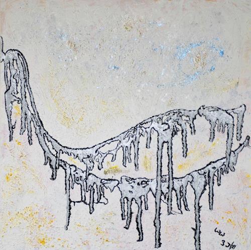 waldraut hool-wolf, the bridge*3J*, Abstraktes, Diverse Menschen, Abstrakte Kunst