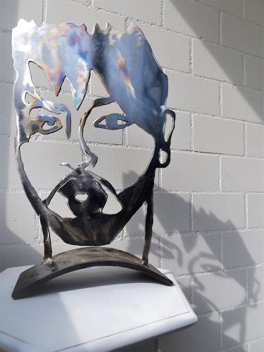 waldraut hool-wolf, harald S29, Abstraktes, Menschen: Mann, Pop-Art
