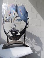 waldraut-hool-wolf-Abstraktes-Menschen-Mann-Moderne-Pop-Art