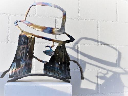 waldraut hool-wolf, Blondes Gift, Abstraktes, Menschen: Frau, Pop-Art