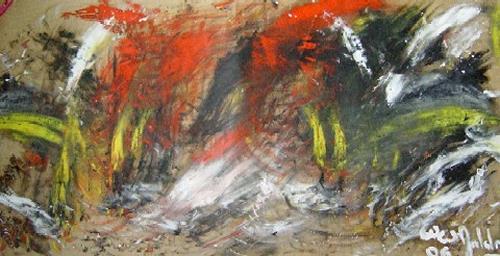 waldraut hool-wolf, farbenspiel (5), Abstraktes, Abstraktes, Neue Wilde