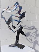 waldraut-hool-wolf-Abstraktes-Menschen-Frau-Moderne-Pop-Art