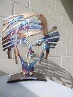 waldraut-hool-wolf-Abstraktes-Menschen-Gesichter-Moderne-Pop-Art