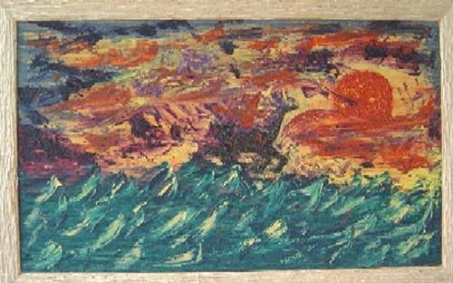 waldraut hool-wolf, tigra, Abstraktes, Abstraktes, Neo-Expressionismus