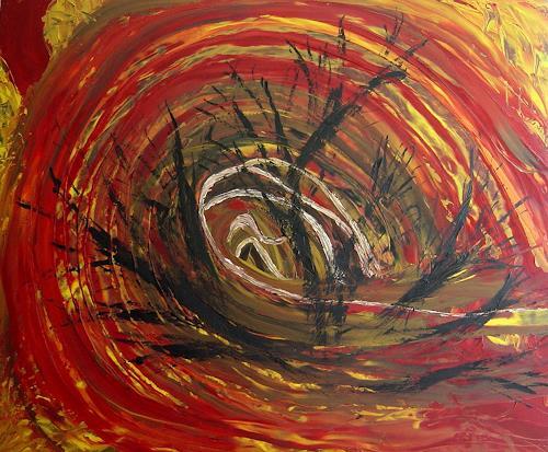 waldraut hool-wolf, vortice, Abstraktes, Abstraktes, Neo-Expressionismus