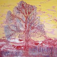 waldraut-hool-wolf-Abstraktes-Pflanzen-Baeume-Gegenwartskunst--Neo-Expressionismus
