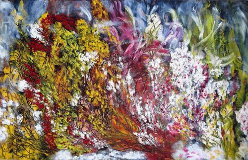 waldraut hool-wolf, 146 ?, Abstraktes, Fantasie, Neo-Expressionismus