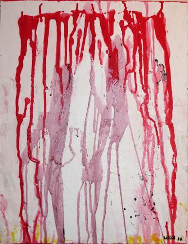 waldraut hool-wolf, a kiss, Abstraktes, Abstraktes, Gegenwartskunst