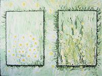 waldraut-hool-wolf-Landschaft-Fruehling-Pflanzen-Blumen-Gegenwartskunst-Gegenwartskunst