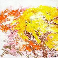 waldraut-hool-wolf-Landschaft-Herbst-Natur-Wald-Gegenwartskunst-Gegenwartskunst