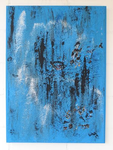 waldraut hool-wolf, blue blue time, Abstraktes, Fantasie, Gegenwartskunst, Expressionismus