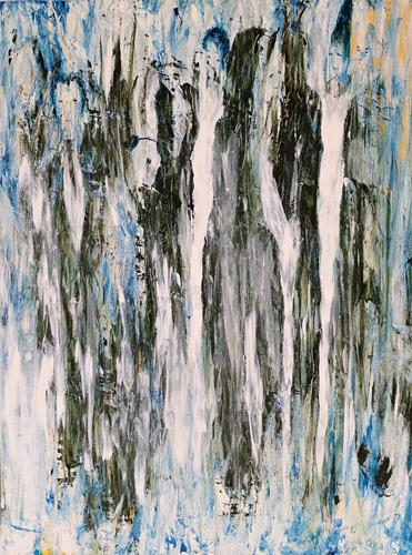 waldraut hool-wolf, See you again together, Menschen: Gruppe, Abstraktes, Gegenwartskunst, Abstrakter Expressionismus