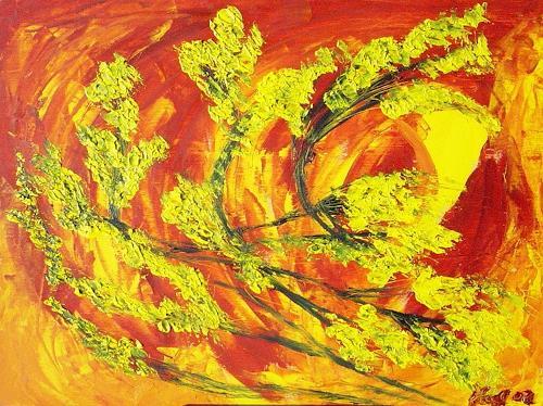 waldraut hool-wolf, luce, Abstraktes, Abstraktes, Neo-Expressionismus