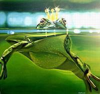Wandmaler-Maerchen-Diverse-Tiere-Neuzeit-Realismus