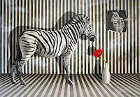 Wandmaler-Tiere-Land-Situationen