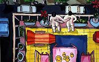 raphael-perez-Menschen-Paare-Gegenwartskunst--New-Image-Painting