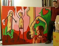 raphael-perez-Menschen-Paare-Gefuehle-Liebe-Moderne-Naive-Kunst