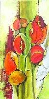 Helga-Sachse-Abstraktes-Pflanzen-Blumen-Moderne-Moderne