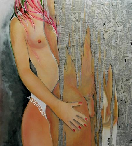 Helga Sachse, ZEIT, Diverse Erotik, Gefühle: Liebe, Gegenwartskunst, Abstrakter Expressionismus