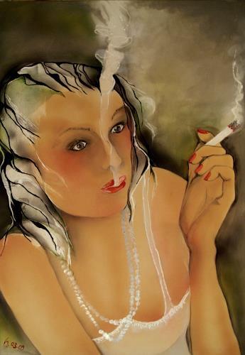 Helga Sachse, Rauch, Menschen: Frau