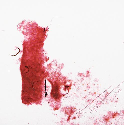 Rosemarie Fischlin, Ohne Titel, Abstrakter Expressionismus, Expressionismus