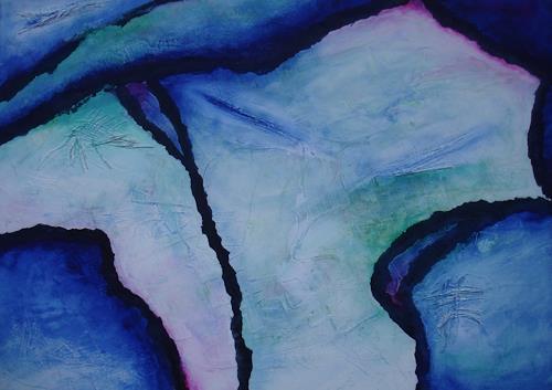 Beate Biebricher, Das letzte Hemd, Abstraktes, Fantasie, Gegenwartskunst