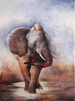 Beate-Biebricher-Tiere-Land-Dekoratives-Gegenwartskunst-Gegenwartskunst
