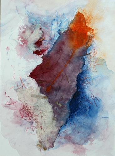 Beate Biebricher, Zwergnase, Abstraktes, Fantasie, Gegenwartskunst, Expressionismus