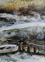 Beate-Biebricher-Landschaft-Winter-Gegenwartskunst-Gegenwartskunst