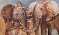 Beate-Biebricher-Tiere-Land-Tiere-Land-Gegenwartskunst--Gegenwartskunst-