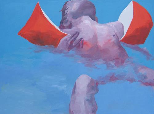 Peter Schmitz, Engel, Menschen: Kinder, Natur: Wasser, Realismus, Expressionismus