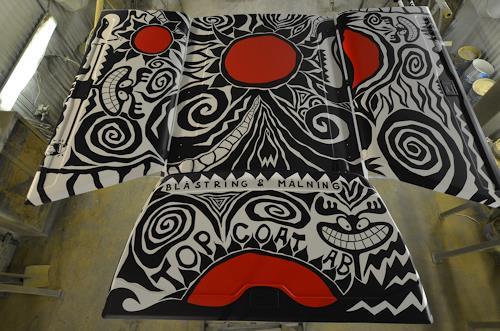 Andi Luzi, Cabb Painting, Industrie, Verkehr: Auto, Pop-Art, Abstrakter Expressionismus