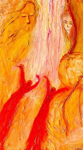 Agnes Vonhoegen, Die Engel die ich rief, Menschen: Gesichter, Bewegung, Gegenwartskunst
