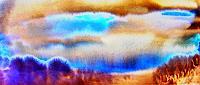 Agnes-Vonhoegen-Abstraktes-Landschaft-Ebene-Gegenwartskunst--Gegenwartskunst-