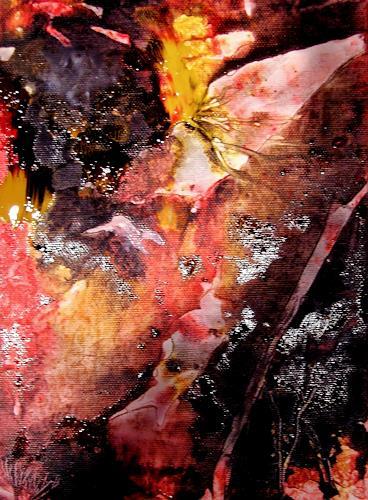 Agnes Vonhoegen, Naturstudie I, Natur: Diverse, Abstraktes, Gegenwartskunst, Expressionismus