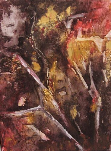 Agnes Vonhoegen, Naturstudie Ii, Natur: Diverse, Abstraktes, Gegenwartskunst