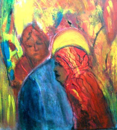 Agnes Vonhoegen, Abschied, Gefühle: Trauer, Glauben, Gegenwartskunst