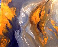Agnes-Vonhoegen-Menschen-Gesichter-Abstraktes-Gegenwartskunst-Gegenwartskunst