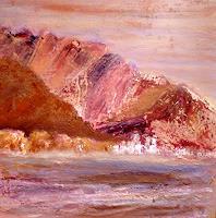Agnes-Vonhoegen-Landschaft-Berge-Landschaft-See-Meer-Gegenwartskunst-Gegenwartskunst