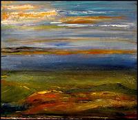 Agnes-Vonhoegen-Natur-Diverse-Landschaft-Ebene-Gegenwartskunst-Gegenwartskunst